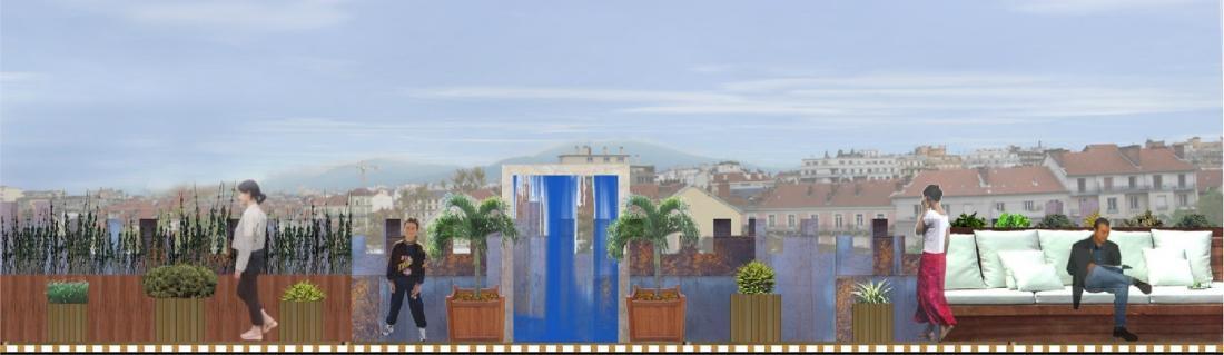 Aménagement de patios, balcons, terrasses