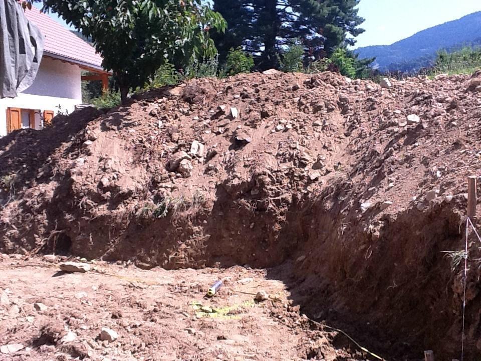 Terrassement/Mise en forme de terrain